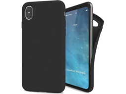 Capa I-PAINT Sand iPhone X, XS Preto — Compatibilidade: iPhone X, XS