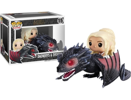 Figura Vinil FUNKO POP! Game of Thrones: Drogon e Daenerys — Game Of Thrones