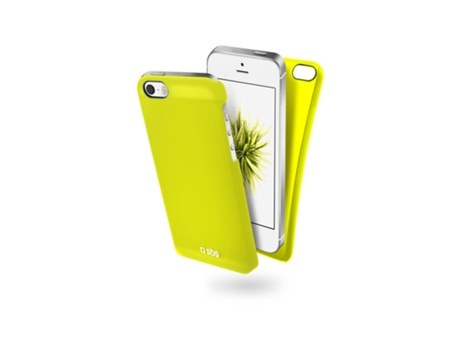 Capa SBS Color Feel iPhone 5, 5s, SE Amarelo — Compatibilidade: iPhone 5, 5s, SE