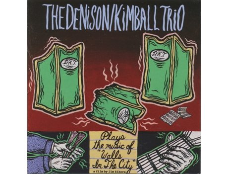 CD The Denison/Kimball Trio - Walls In The City