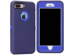 Capa iPhone 7 Plus WISETONY Bailisheng-89 Azul