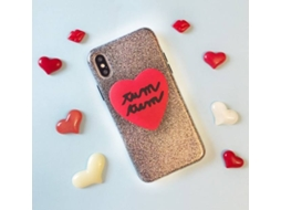 Capa SILVIA TOSI 3D Heart iPhone X — Compatibilidade: iPhone X