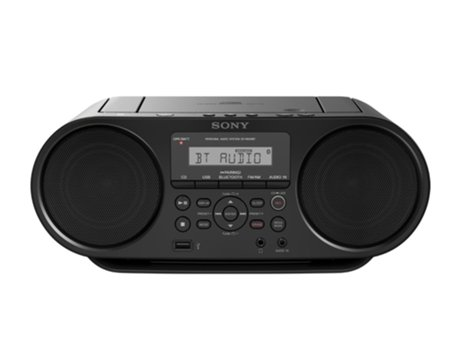 Rádio Boombox SONY Zs-Rs60bt — 4 W / NFC / Bluetooth