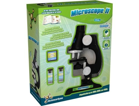 Kit Science4You Microscópio II — Science4You