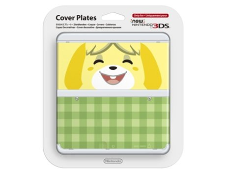 Capa Decorativa NEW 3DS Animal Crossing: New Leaf - Isabella — Compatibilidade: New Nintendo 3DS