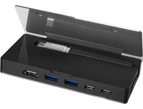 HUB MITSAI 8EM1 2C+2USB3+HDMI+SD+RJ+VGA | [7072035 ]