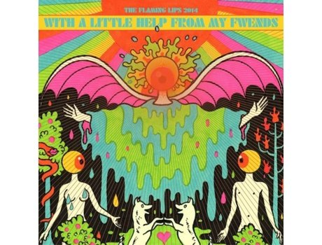 Vinil The Flaming Lips - With A Little Help From My Fwends