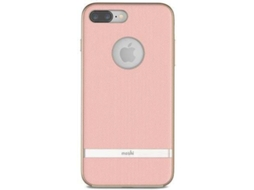 Capa MOSHI Vesta iPhone 7 Plus, 8 Plus Rosa — Compatibilidade: iPhone 6 Plus, 6s Plus, 7 Plus, 8 Plus