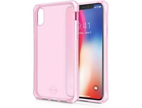 Capa ITSKINS Supreme iPhone X Rosa — Compatibilidade: iPhone X