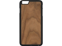 Capa G-CODE Simple Woods Nogueira iPhone 7, 8 Castanho — Compatibilidade: iPhone 7, 8