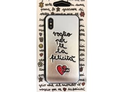 Capa SILVIA TOSI Embroidered Felic iPhone X, XS Multicor — Compatibilidade: iPhone X, XS