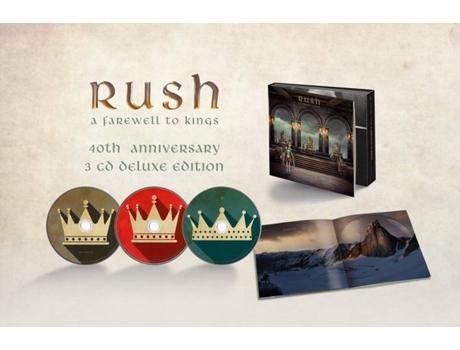 MERCURY - Caixa Vinil Rush - A Farewell To Kings (CD+4 LPs+Blu-ray)