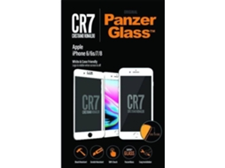 Película Vidro Temperado PANZERGLASS CR7 iPhone 8 — Compatibilidade: iPhone 8