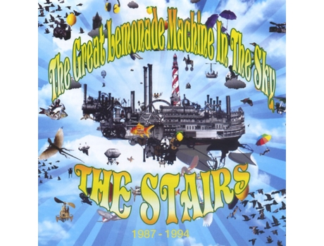 CD The Stairs - The Great Lemonade Machine In The Sky 1987 - 1994