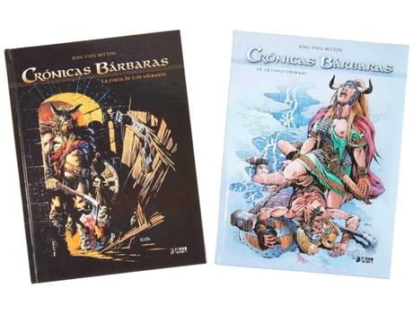 YERMO EDICIONES - Livro Cofre Obra Completa Crónicas Bárbaras Integral de Bonnet Mitton (Espanhol)