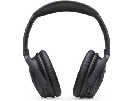 Auscultadores Bluetooth BOSE QC35 II (Over Ear - Microfone - Noise Canceling - Preto) — Over Ear | Microfone | Noise Cancelling | Atende chamadas