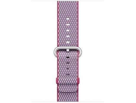 Bracelete APPLE 42mm Berry Check Woven Nylon — Bracelete / 42mm