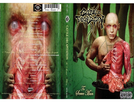 Cassete Cattle Decapitation - To Serve Man