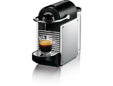 Máquina de Café DELONGHI Nespresso EN124S Pixie (19 bar - Inox) | [7016185 ]