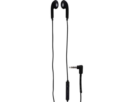 Auriculares Com fio GOODIS Com Microfone (In Ear - Microfone - Preto) | [6609857 ]
