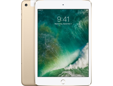 iPad Mini 4 7.9'' APPLE Wi-Fi+Cellular 128GB Gold — iOS 9 / A8 / 128 GB