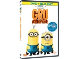 DVD + Blu-Ray Gru, O Mal-Disposto 2 — De: Pierre Coffin,  Chris | Com: Steve Carell,  Kristen Wiig,  Benjamin Bratt