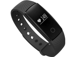 Pulseira Desportiva NEW-MOBILE Smart Fit Preto — Bluetooth | Até 7 dias