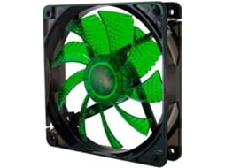 Ventoinha PC NOX Coolfan 120mm LED Verde — Ventoinha / 120mm