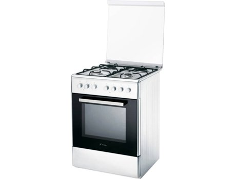 Fogão CANDY CCG 6503 PW — Misto | Gás Natural | Forno: 52L