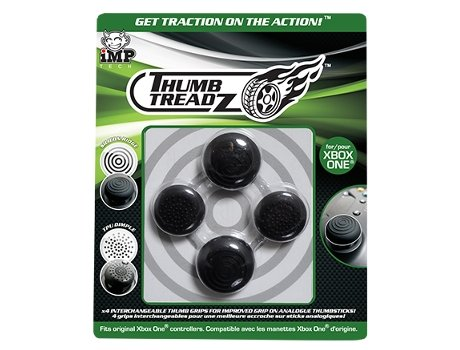 Thumbsticks Xbox One TRIGGER TREADZ — Compatibilidade: XBOX ONE
