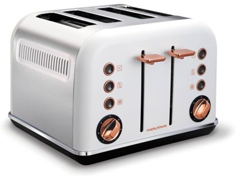 Torradeira MORPHY RICHARDS White Rose Gold 242106 — 1880 W