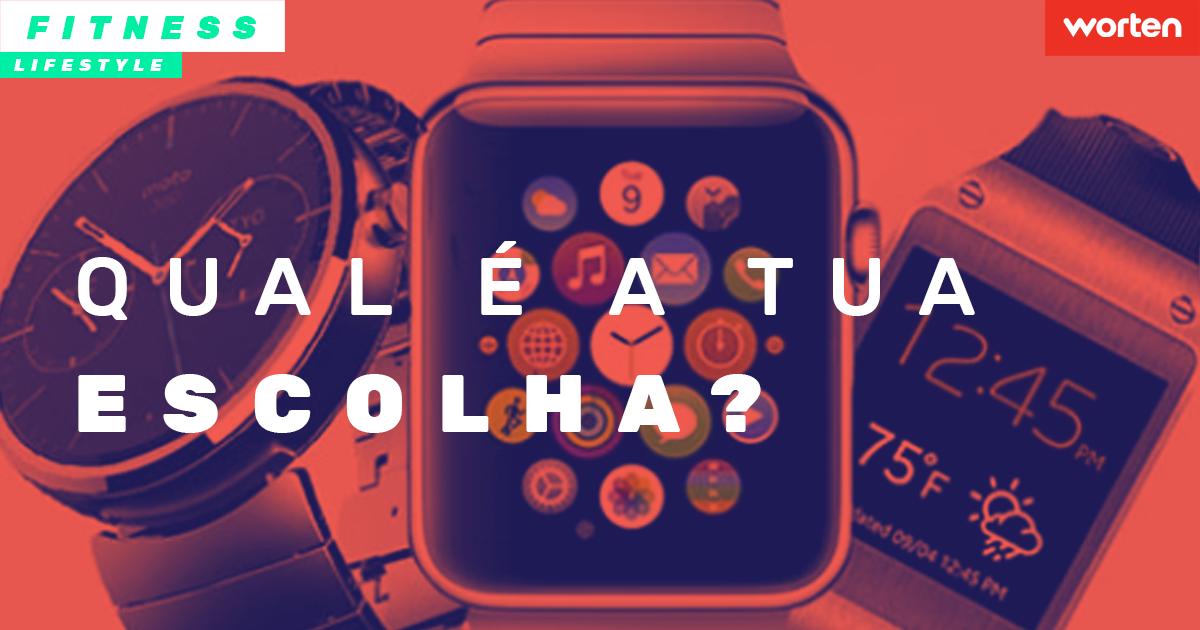 Descubra as diferenças entre smartwatches, relógios desportivos e pulseiras fitness