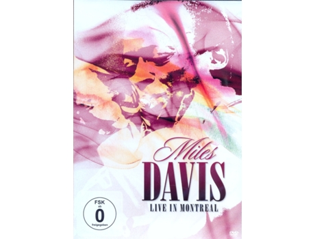 DVD Miles Davis - Live in Montereal — Pop-Rock