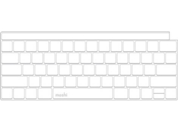 Capa Teclado MOSHI ClearGuard  MacBook Pro 13/15 — Compatibilidade:  MacBook Pro 13/15