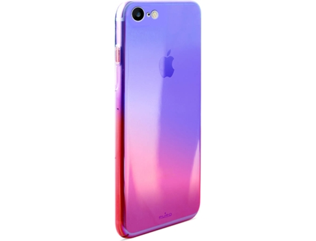 Capa PURO Hologram iPhone 7, 8 Rosa — Compatibilidade: iPhone 6, 6s, 7 ,8