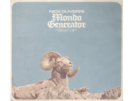 CD Nick Oliveri's Mondo Generator - Best Of