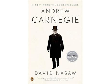 Marca do fabricante - Livro Andrew Carnegie de David Nasaw