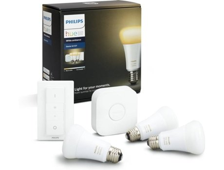 Lâmpada PHILIPS HUE Ambiance A60 E27 Branco — Smart Lighting / E27
