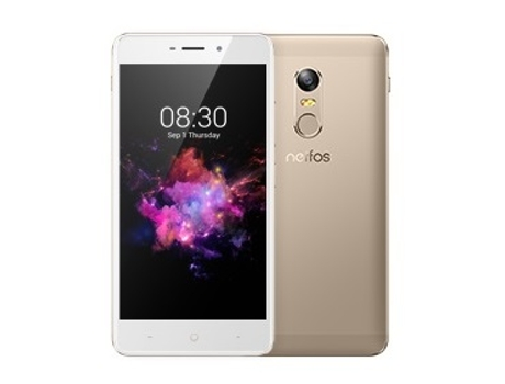 Smartphone TP-LINK Neffos X1 16GB Sunrise Gold — Android 7 | 5'' | Octa-Core | 2 GB RAM | Dual SIM Híbrido
