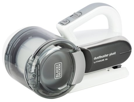 Mini Aspirador BLACK & DECKER Pivot — 18V | Autonomia: 10min | Capacidade: 440ml