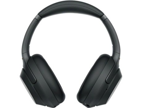 Auscultadores Bluetooth SONY WH-1000XM3B (Over Ear - Microfone - Noise Canceling - Preto) — Over Ear | Microfone | Noise Cancelling | Atende chamadas