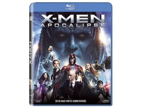 Blu-Ray X-Men: Apocalipse — De: Bryan Singer | Com:  James McAvoy, Michael Fassbender, Jennifer Lawrence
