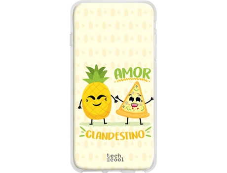 Capa Honor 20 Lite TECHCOOL Pizza Amarelo