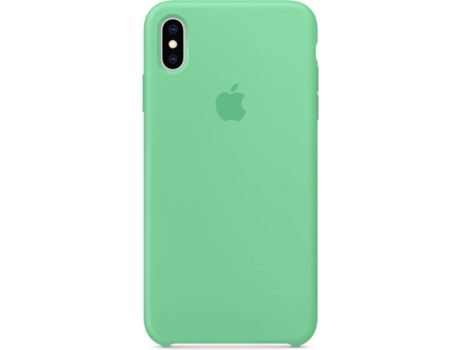 Capa APPLE iPhone XS Max Silicone Verde