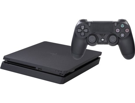 Consola PS4 Slim (500 GB - Preto) — 500 GB