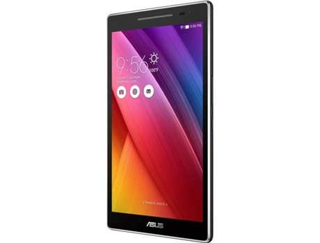 Tablet ASUS Zenpad Z380 M (8'' - 16 GB - 2 GB RAM - Wi-Fi - Cinza Escuro) — 8'' | 16 GB | Android 6.0 Lollipop