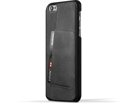 Capa Mujjo Leather 80° iPhone 6/6S Plus Preto — Capa / iPhone 6/6S Plus