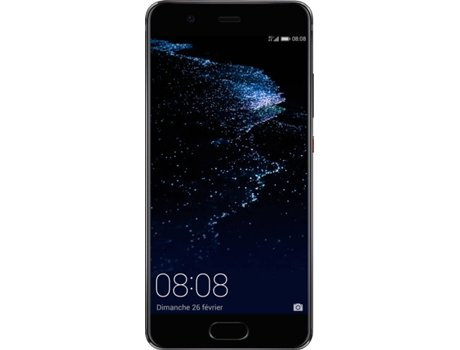 Smartphone HUAWEI P10 Plus 128GB Preto — Android 7.0 / 5.5'' / Octa-core 4x2.4 + 4x1.8 GHz / 6GB RAM
