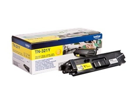 Toner BROTHER TN-321 Amarelo (TN-321Y) — Amarelo