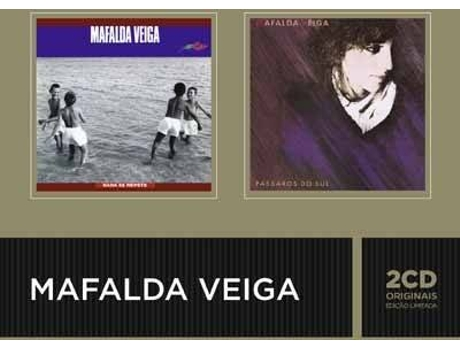 CD Mafalda Veiga- Nada Se Repete / Pássaros — Pop-Rock